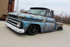 1965 Chevy Rat Rod Truck - Nice lowrider...