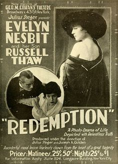 Evelyn Nesbit in  George M. Cohan stage production Redemption