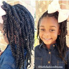 beautiful twists and a bow