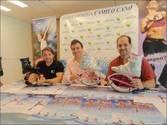 Rueda de prensa anunciando el 4º Kangoo Jumps Fitness Festial en el Ayuntamiento de La Nucía