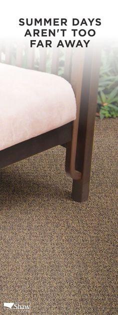 See Shaw's New Life Happens Water Proof Carpet. Outdoor Spaces, Indoor Outdoor, Outdoor Living, Outdoor Flooring, How To Get Warm, Flagstone, Carpet Colors, Vinyl Flooring, Textures Patterns