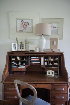 This Roll Top Desk Was A Gift From Chris To Katie