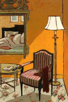 Jean-Claude Gotting -  Chambre d'hôtelI