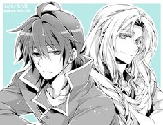 Owari no Seraph - Ferid Bathory and Crowley Eusford >-- Actually this is Sion Astal and Ryner Lute