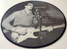 Buddy Holly Picture Disc LP Vinyl Record Album by ThisVinylLife
