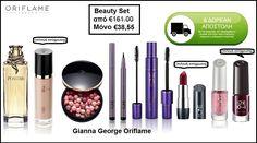 Beauty Set -853090 - Gianna - George Oriflame Eyeshadow, Lipstick, Beauty, Eye Shadow, Lipsticks, Eyeshadows, Eye Shadows, Beauty Illustration