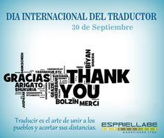 El Día internacional del Traductor y el Intérprete se celebra como conmemoración del fallecimiento de San Jerónimo de Estridón, patrono de esta profesión.