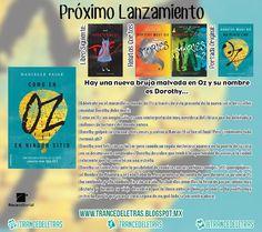 """Roca Editorial ha decidido traer al español la trilogía """"Dorothy Must Die"""" de Danielle Paige, se titulará """"Dorothy Debe Morir"""" y se publicará durante el mes de Septiembre (España), también podremos adquirir en formato digital la precuela del primer libro la cual se titulará """"Como en Oz, en Ningún Lado"""""""