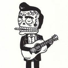 Johnny Cash day of the dead