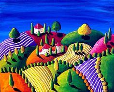 Tuscan Landscape   Renie Britenbucher
