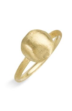 Marco Bicego 'Africa Gold' Ball Ring available at #Nordstrom