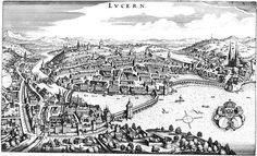 Historic Map Lucerne