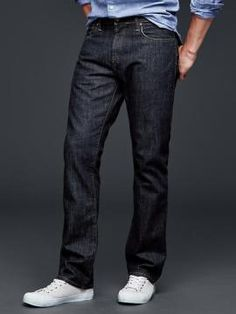 The Dark Wash Jean - Men's Wardrobe Essentials | Men's Essentials ...