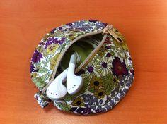 Pochette écouteurs | diy couture | lien vers patron couture gratuit