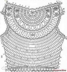 Résultats de recherche d'images pour « tops a crochet patrones T-shirt Au Crochet, Pull Crochet, Gilet Crochet, Mode Crochet, Crochet Motifs, Crochet Shirt, Crochet Diagram, Crochet Woman, Irish Crochet