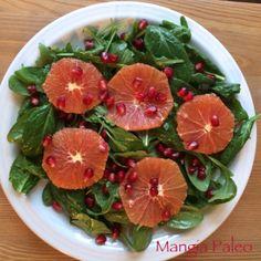 In Season Orange & Spinach Salad