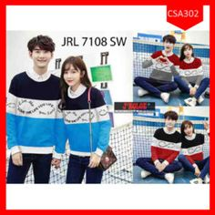 Fashion Sweater Couple I Love Life Terbaru