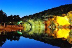 A summer night at Vouliagmeni's lake south of Athens! (World Photography Day 2013 Entry 'Beatifull lake at night!')