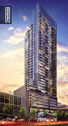 The Eglinton #Toronto condo tower.