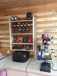 Projects and garage organization hacks. Garage Wall Storage Idea put spray paint. Projects and garage organization hacks. Garage Wall Storage Idea put spray paint and other ca Garage Wall Storage, Tool Storage Cabinets, Shed Storage, Small Storage, Storage Racks, Storage Ideas, Garage Cabinets, Bike Storage, Garage Workshop Organization