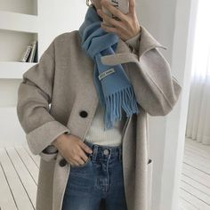 Clothing ideas on casual korean fashion 813 Korean Outfits, Mode Outfits, Fashion Outfits, Womens Fashion, Fashion Ideas, Fashion Hacks, Korean Winter Outfits, Korean Dress, Fashion Styles