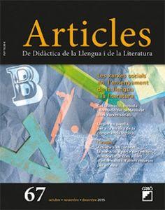 Articles. De Didàctica de la Llengua i de la Literatura. Aldizkaria