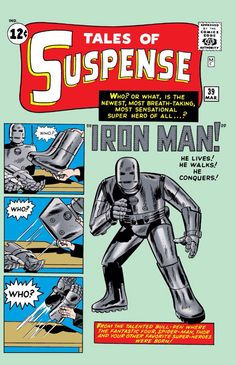 The first ever Iron Man hit Marvel Universe! (1963 - Tales Of Suspense #39)