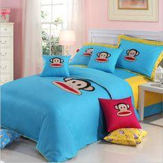 Paul Frank Julius Blue Bedding Set