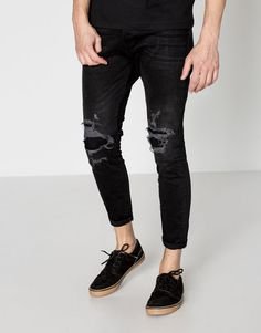 :Carrot fit jeans