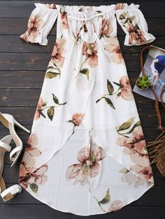 GET $50 NOW | Join Zaful: Get YOUR $50 NOW!http://m.zaful.com/off-shoulder-ruffle-asymmetric-floral-dress-p_276709.html?seid=1920737zf276709