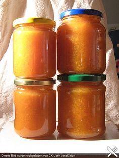 Pfirsich - Karotten - Zitronen Marmelade