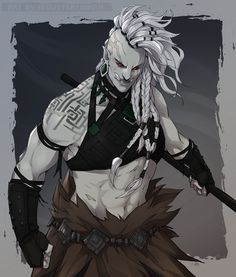 BanishedPotato (@BS_artsss) / Twitter Dungeons And Dragons Characters, Dnd Characters, Fantasy Characters, Female Characters, Dungeons And Dragons Ranger, Female Character Design, Character Design Inspiration, Character Concept, Character Art