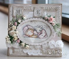 Cards by Camilla - A Christening Card ♥