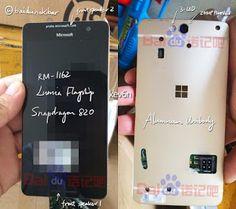TELLFORCE Blog: Photo: Revelation of the cancelled Microsoft Lumia...
