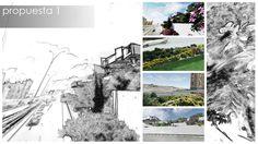 Adecuación paisajística Palacio de Ferias de Málaga:propuesta preliminar - Propuesta 1