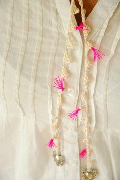 delicate necklace: Erica Hogenbirk
