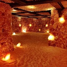 Is a Salt Spa the Secret to Breathing Easier This Cold Season? Salt Room Therapy, Massage Therapy Rooms, Salt Cave Spa, Himalayan Salt Room, Home Spa Room, Office Paint Colors, Black Bedroom Design, Sauna Design, Spa Interior