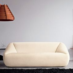 sleek and modern couch