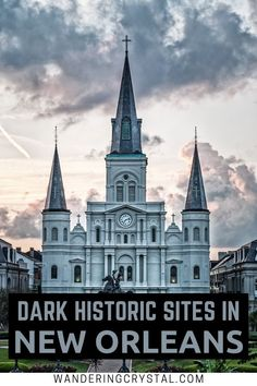 Dark Travel in New Orleans, things to do in New Orleans, Spooky things to do in New Orleans, ghost tours in the French Quarter, things to do in the french quarter New Orleans, French Quarter history, tours in New Orleans, cemeteries in New Orleans, Voodoo history in New Orleans, Marie Laveau's House of Voodoo, Voodoo Queen of New Orleans, things to do in NOLA, wanderingcrystal, haunted places to visit in New Orleans, vampires in New Orleans, St Louis Cemetery No 1 #NewOrleans #DarkTravel… Louisiana Usa, New Orleans Louisiana, Louisiana History, New Orleans Vacation, New Orleans Travel, Haunted Hotel, Haunted Places, St Louis Cemetery, New Orleans History