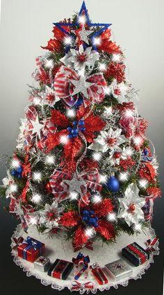 Patriotic Christmas.Patriotic Christmas