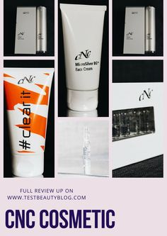 Eine tolle Gesichtspflegemarke möchten wir euch heute auf dem Blog vorstellen. Es handelt sich um CNC Cosmetic- einer Marke aus dem HighStreet Bereich. Unsere volle Review gibt es auf unserem Blog :) #skincare #cnc #beauty #review