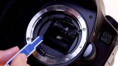 Canon EOS 60D Tutorial - Interchangeable Focus Screens 14/14