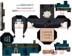 HAKU (NARUTO SHIPPUDEN) by animepapertoys, via Flickr