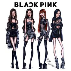 by Hayden Williams Hayden Williams, Blackpink Fashion, Fashion Models, Fashion Outfits, Paper Fashion, Fashion Design Drawings, Fashion Sketches, Fashion Illustrations, Stage Outfits