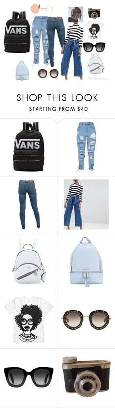 """""""Bez naslova #4"""" by kiki-39 ❤ liked on Polyvore featuring Vans, Levi's, MICHAEL Michael Kors and Gucci"""