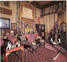 La stanza delle reliquie al Vittoriale.