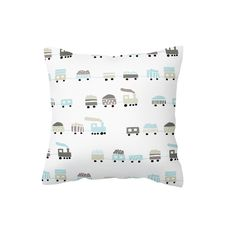 If your little boy is loving trains, then our Choo Choo in Mist Blue is perfect with a touch of grey!