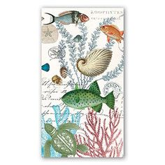 Michel Design Works – Hostess Napkins – Sea Life