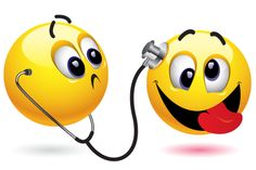 We're not sure this doc knows any cures but you'll find this emoticon can bring a smile to someone's face.
