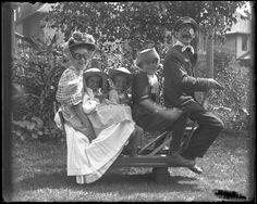 Family, 1908. An early awkward family photo!